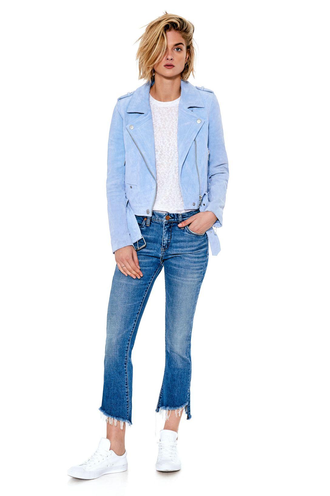 Sky Blue Suede Jacket Jackets, Blue suede jacket