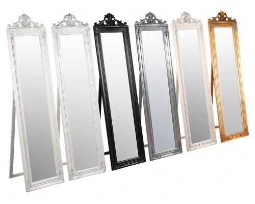 Modern Free Standing Mirror Against Wall   Google Search