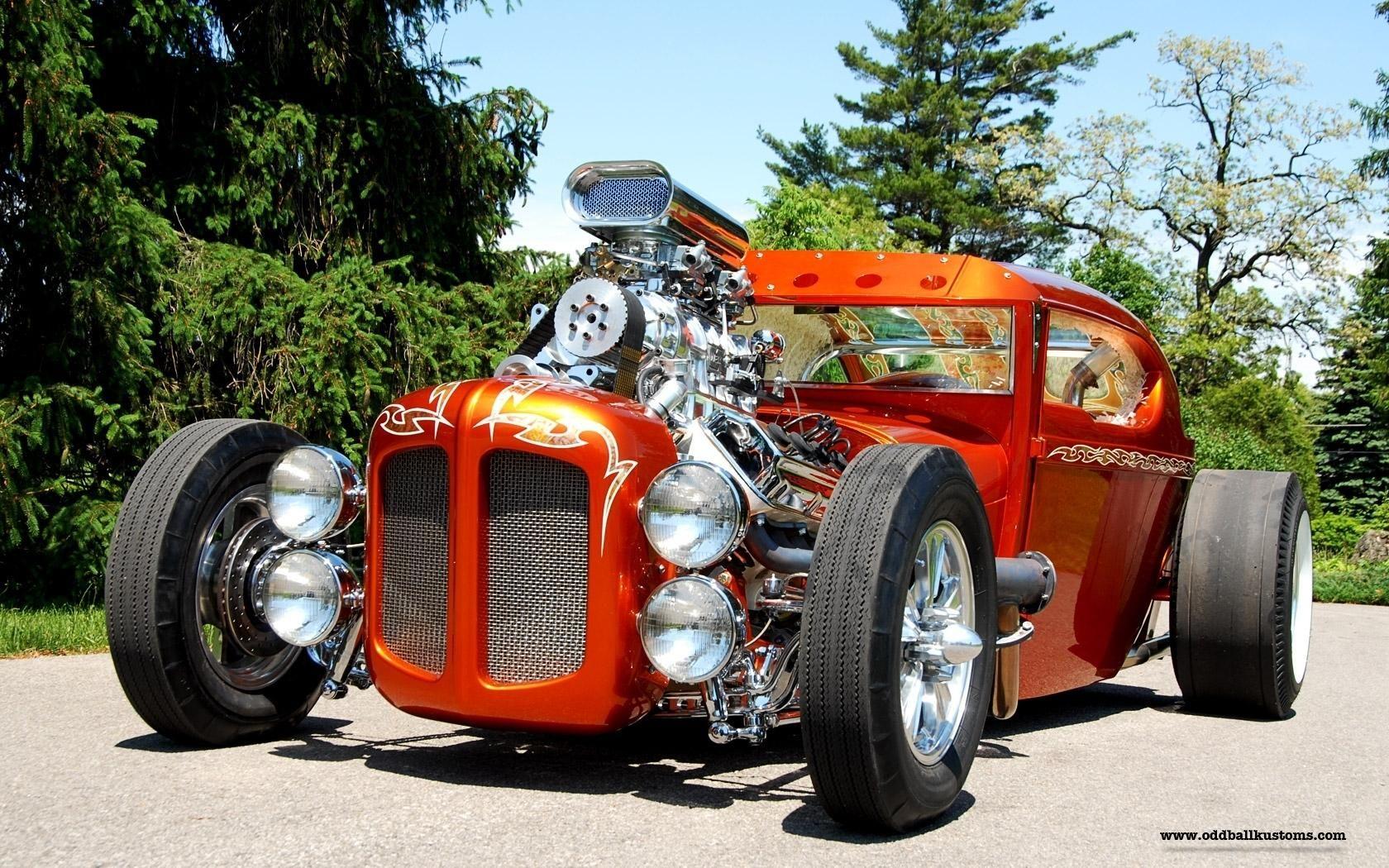 Vehicles Cars Custom Retro Old Classic Hot