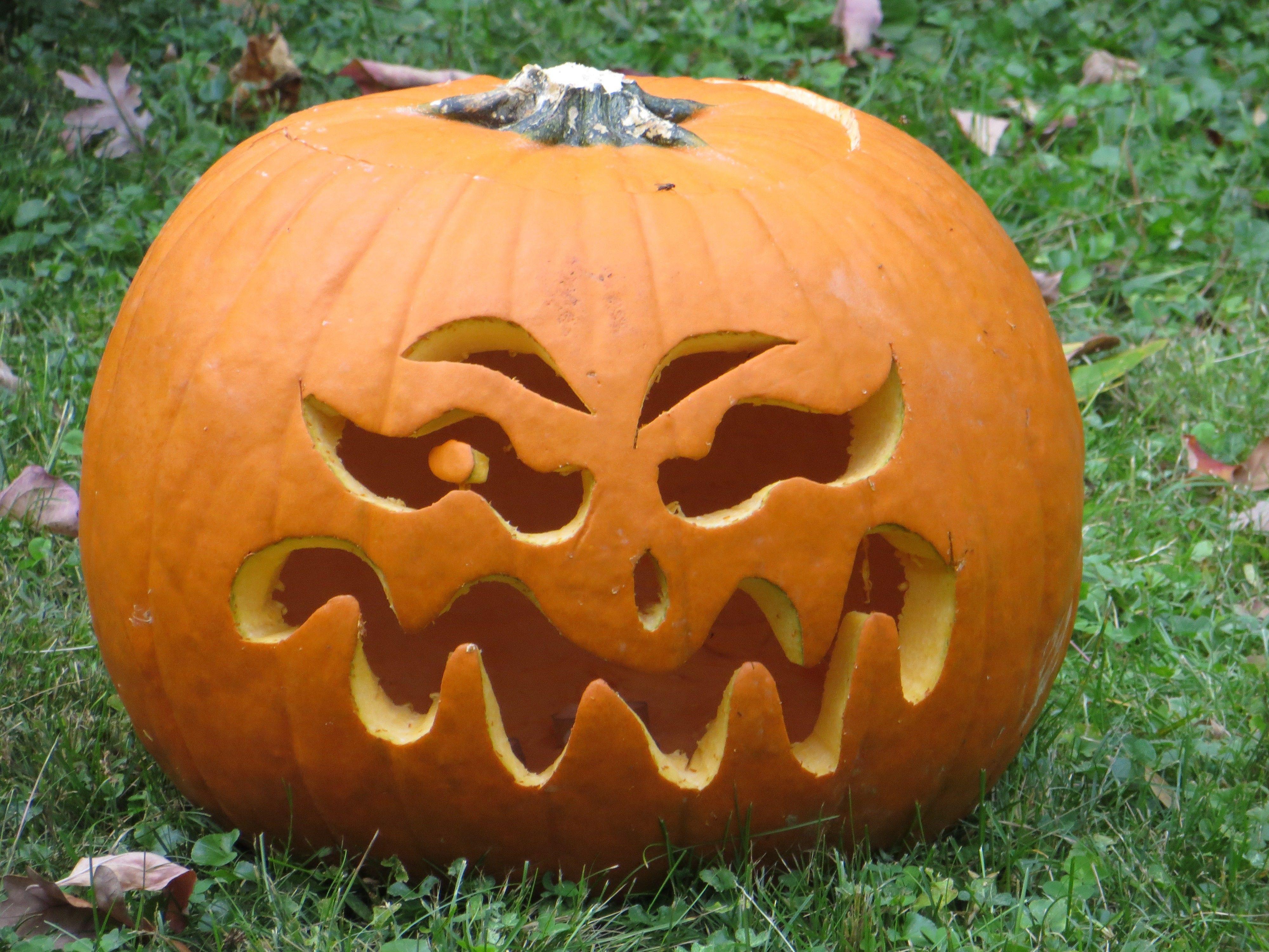 Squiggly Pumpkin Photo By Frederick Meekins Scary Pumpkin Carving Pumpkin Carving Designs Halloween Pumpkin Diy