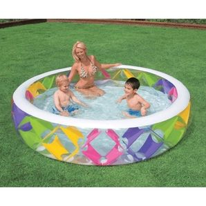 """90"""" x 22"""" Pinwheel Pool"""
