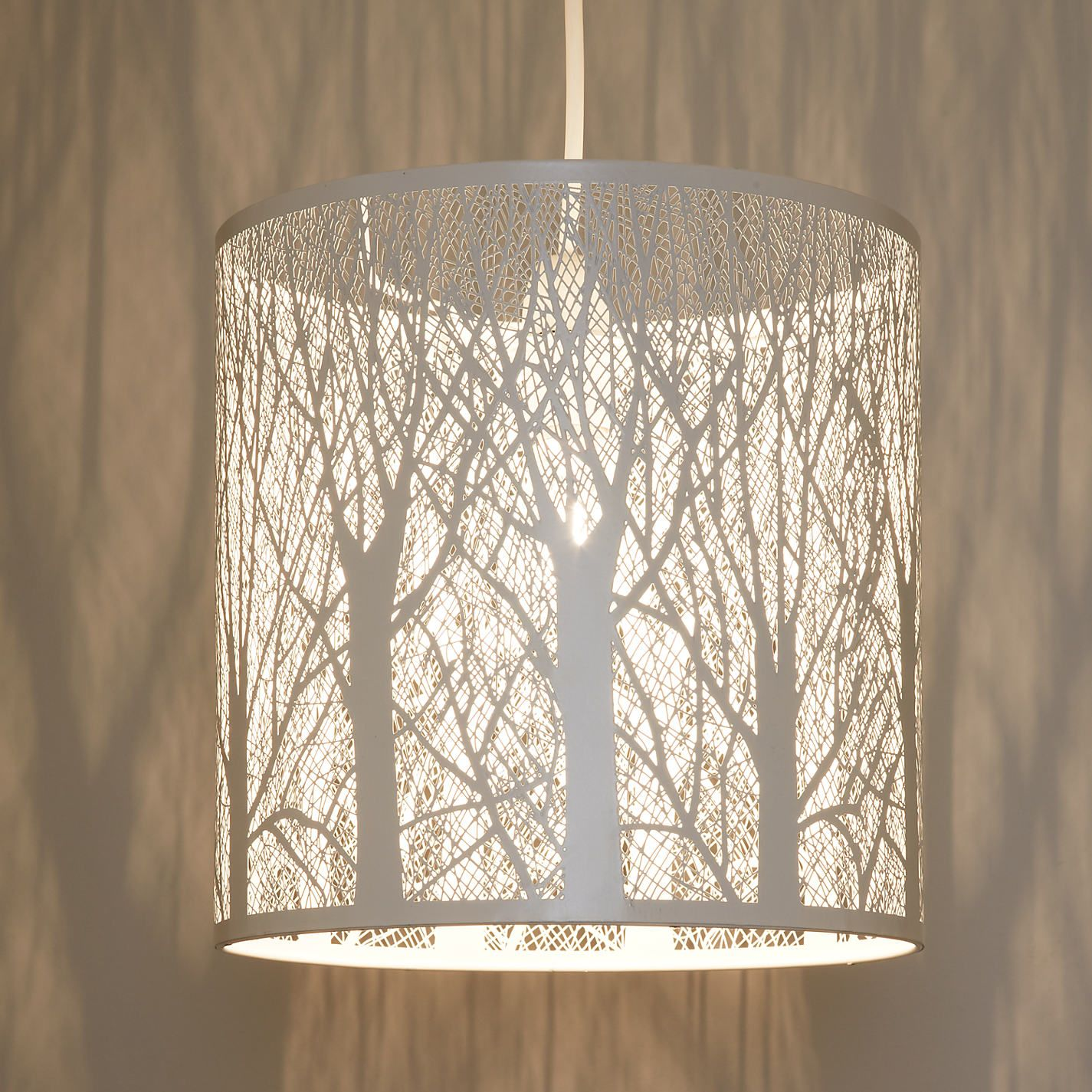 Easy Ceiling Lamp Shade: John Lewis & Partners Devon Easy-to-Fit Small Ceiling