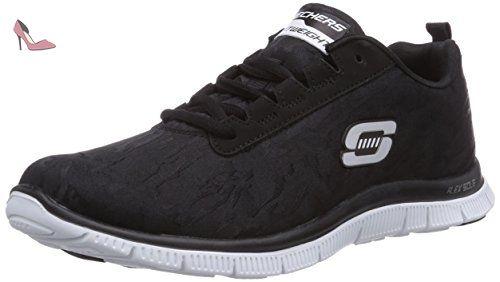 Skechers bkw Clever Flex Sneakers Appeal Basses Noir Style Femme 7zSr7qnwH
