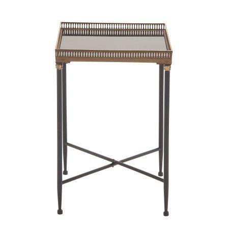 Marvelous Grandeur Unique Styled Metal Marble Tray Table Black Lamtechconsult Wood Chair Design Ideas Lamtechconsultcom