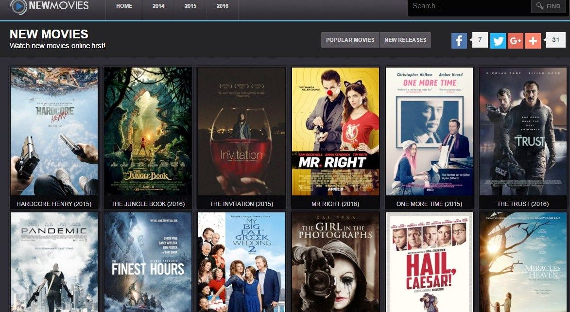 Best websites to watch movies online for free