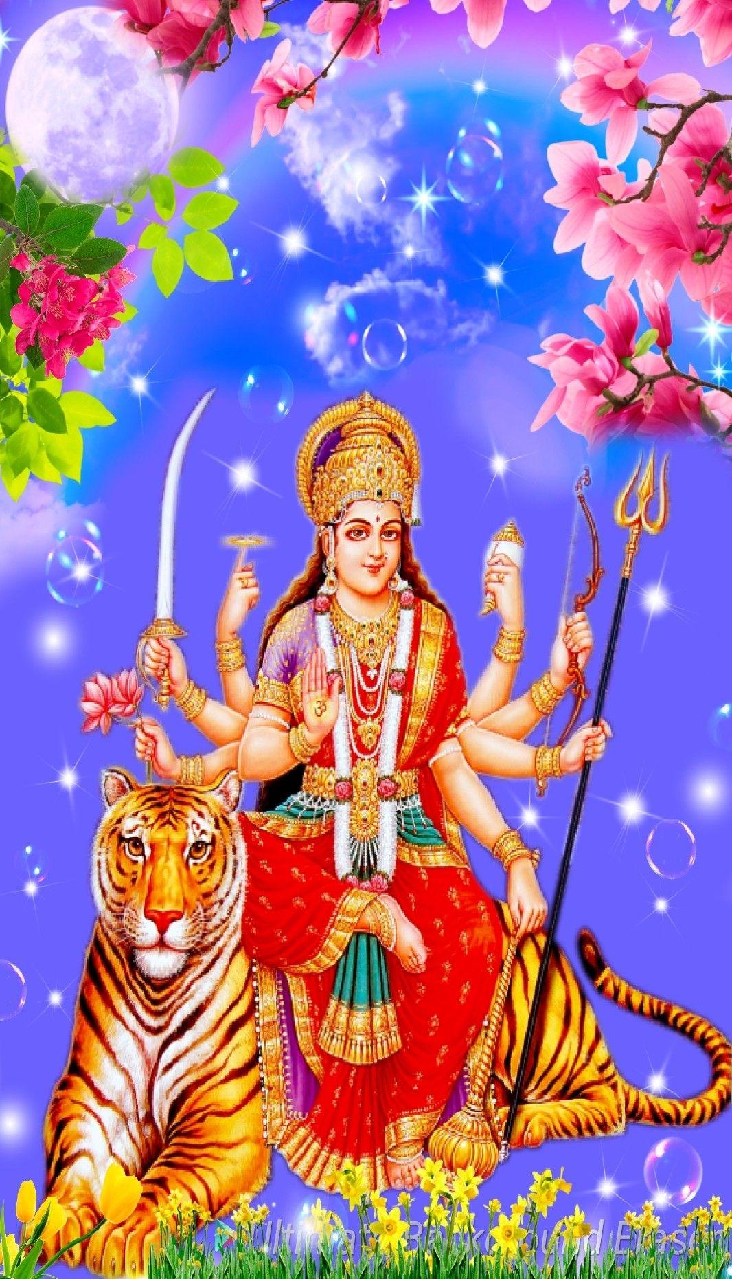 Pin By Mahesh Kumar On Jai Mata Di Wallpaper Free Download Colorful Wallpaper Maa Wallpaper