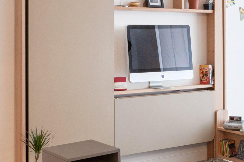 Possibilité d\'intégrer un écran de grande taille (113×70 cm maxi ...
