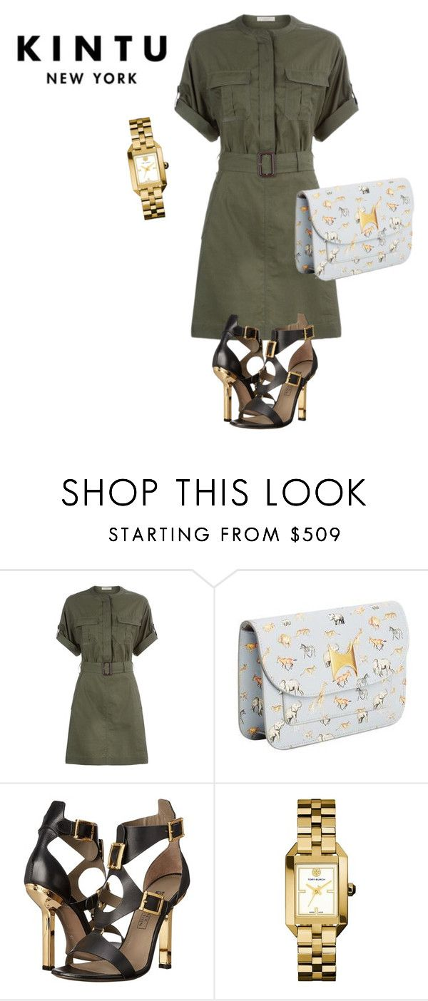 SHOP - Kintu New York by ladymargaret on Polyvore featuring mode, Burberry, Versace and Tory Burch