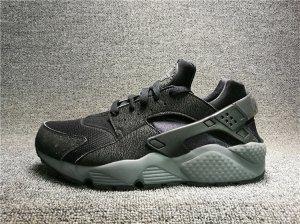 bea8f89ed052 Mens Womens Footwear Nike Air Huarache Black Dark Grey 318429 010 ...