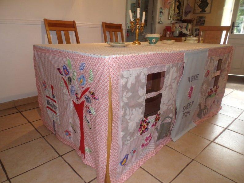 Nach Mass Tischdecke Spielhaus Home Sweet Home Etsy Tischdecke Decke Sweet Home