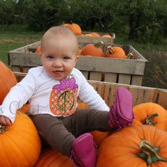 Fall pumpkin with bow monogrammed shirt | Gentry California | $25 | Click link to shop: http://www.gentrycalifornia.com/collections/fall2016kids/products/fall-pumpkin-shirt-or-infant-bodysuit-with-bow-and-monogram-little-girl-clothes-baby-girl-autumn-outfit-with-pumpkin-pumpkin-patch