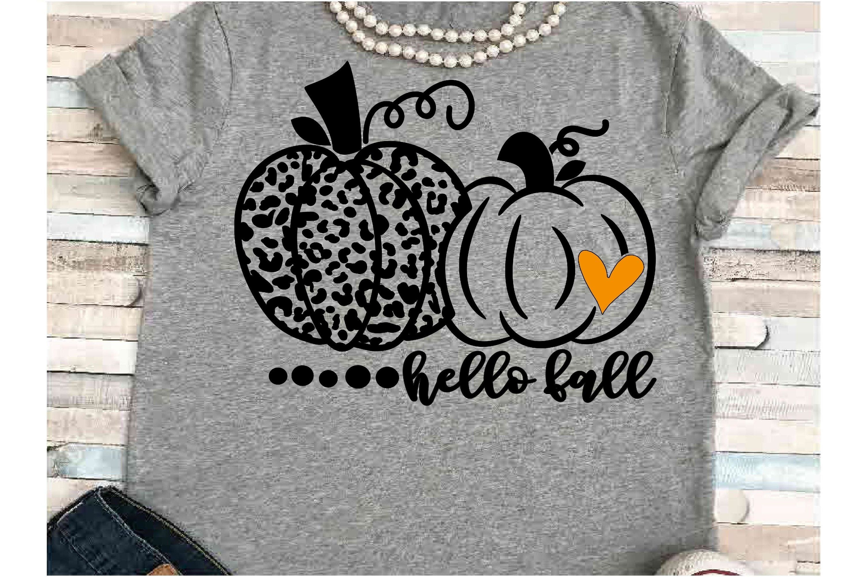Pumpkin svg JPEG Silhouette Cameo Cricut hello fall