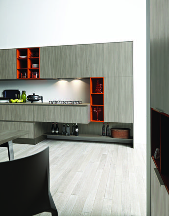 designer kuche kalea cesar arredamenti harmonischen farbtonen, laminato olmo grigio | cesar | living room + kitchen | pinterest, Design ideen