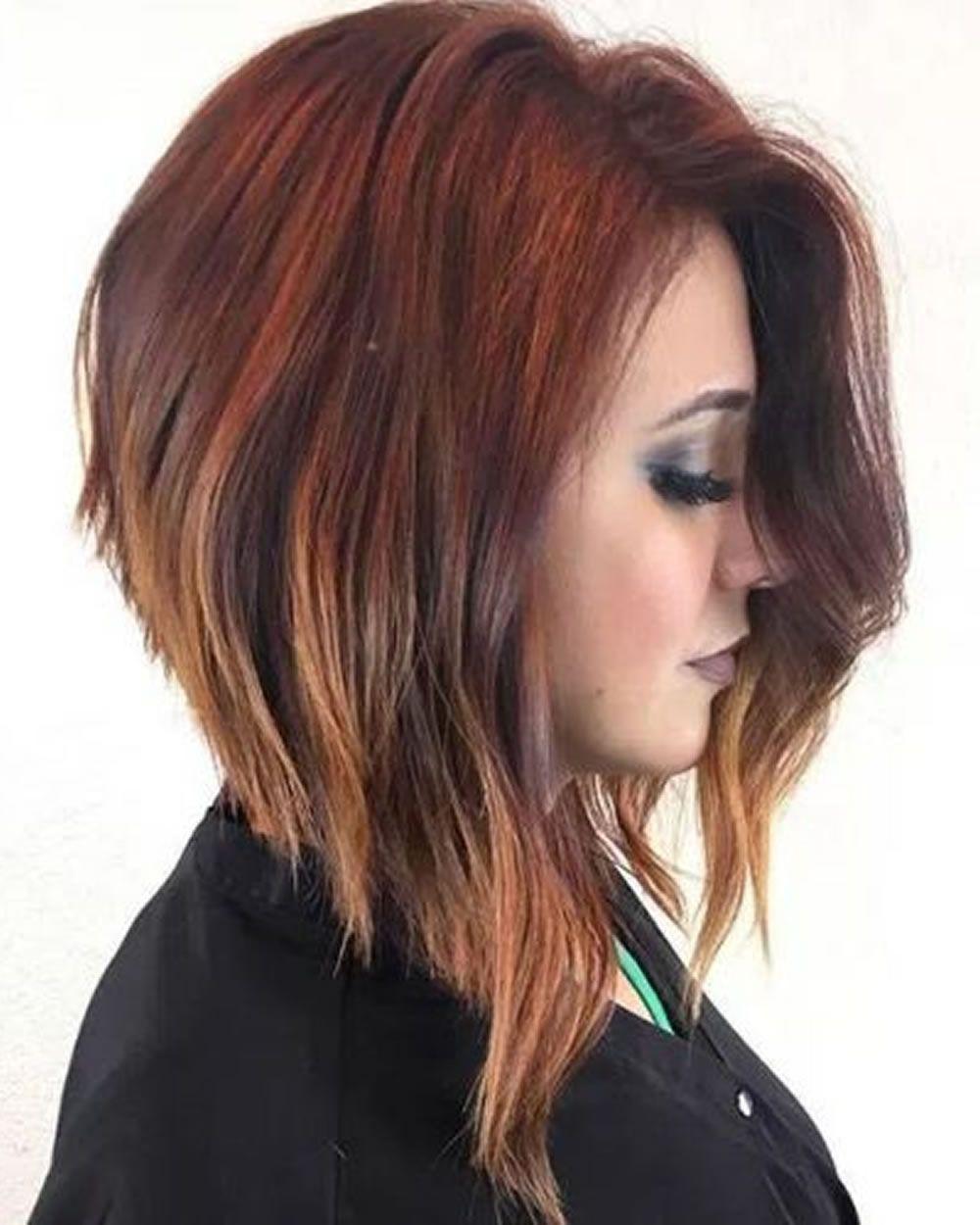 Fraulich - Frisuren für die Frau  Haarschnitt bob, Bob frisur