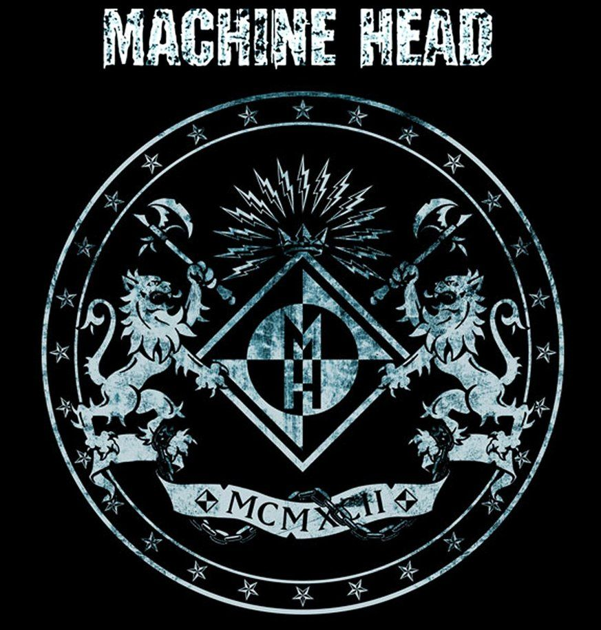 Machine Head The Burning Red Patch Album Art Metal Music Woven Sew On Applique