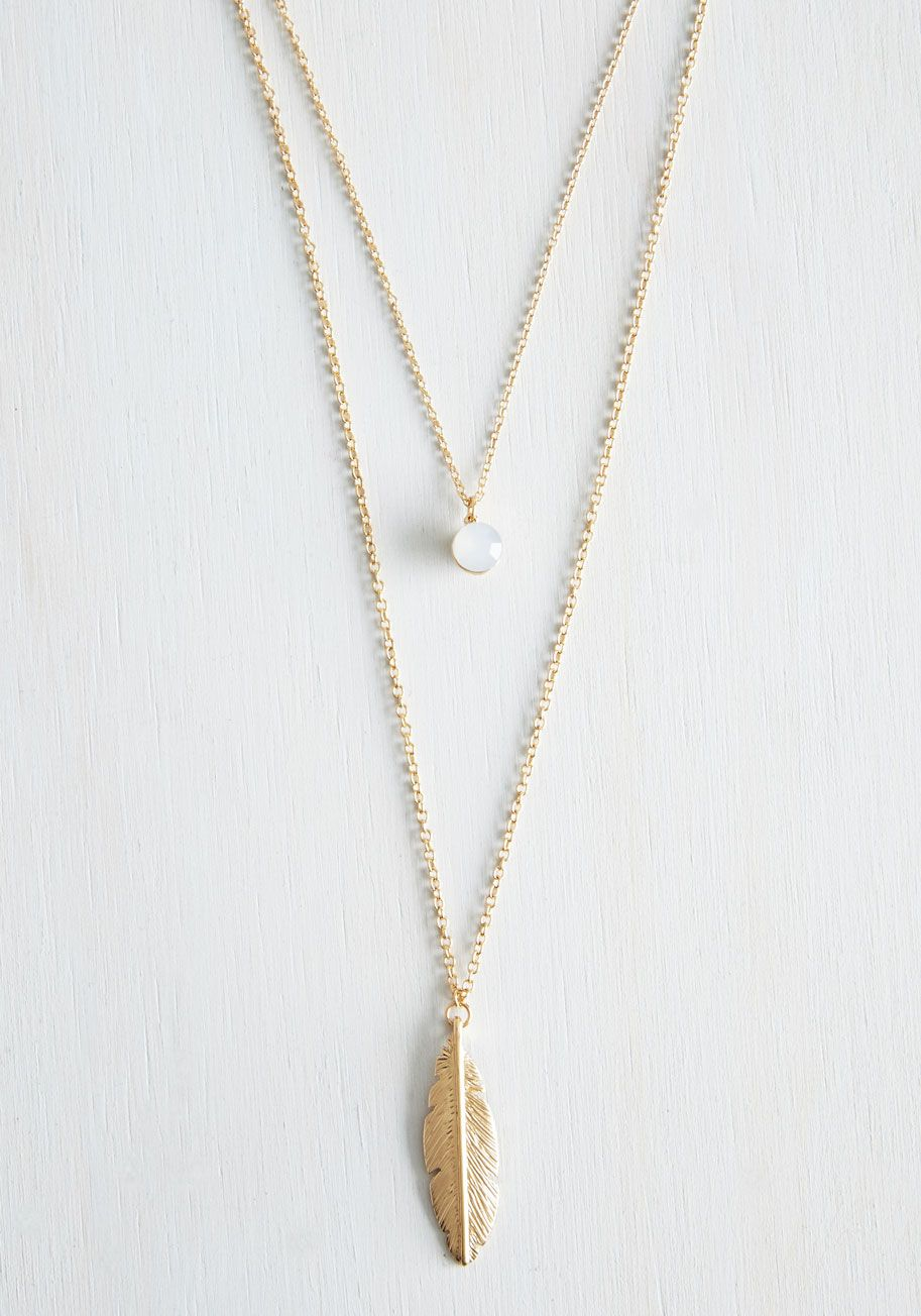 The sooner the feather necklace waste no time before choosing this