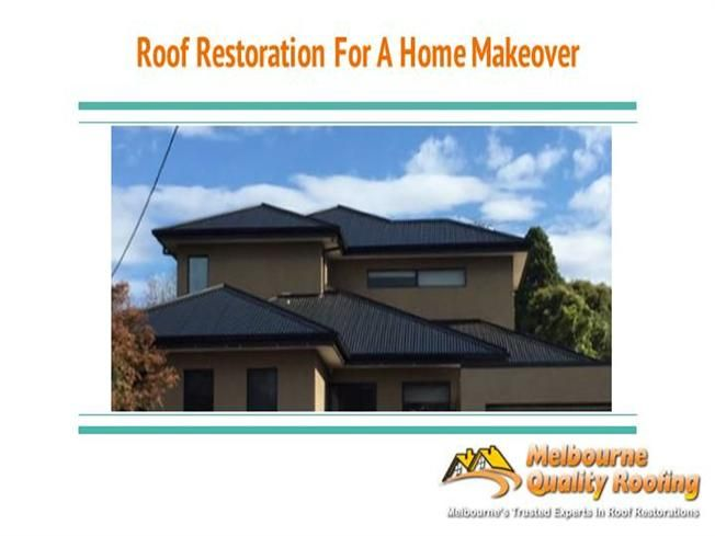 Did You Know That The Roof Of Your Home Is One Of The Most Important Elements In The Overall Appearance And Aesthe Roof Restoration Terracotta Roof Restoration