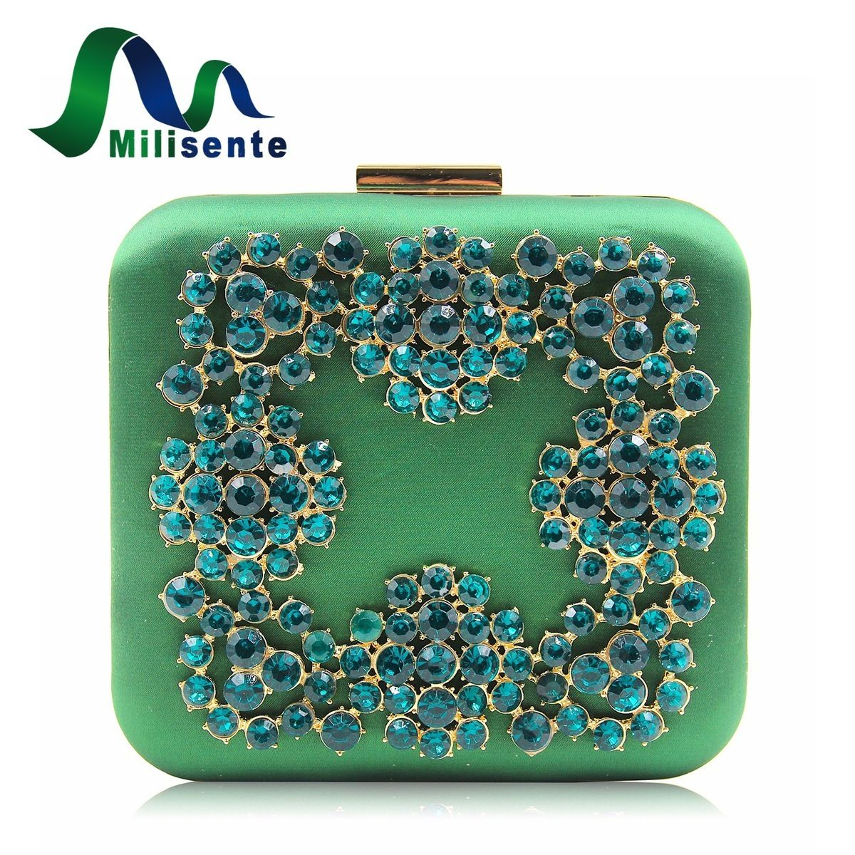 159bf2cabc6a Aliexpress.com : Buy Milisente New Retro Wind Satin Fabric Women Evening  Bag Purse Blue Diamond Box Clutch Ladies Wedding Purses Party Bag from  Reliable ...