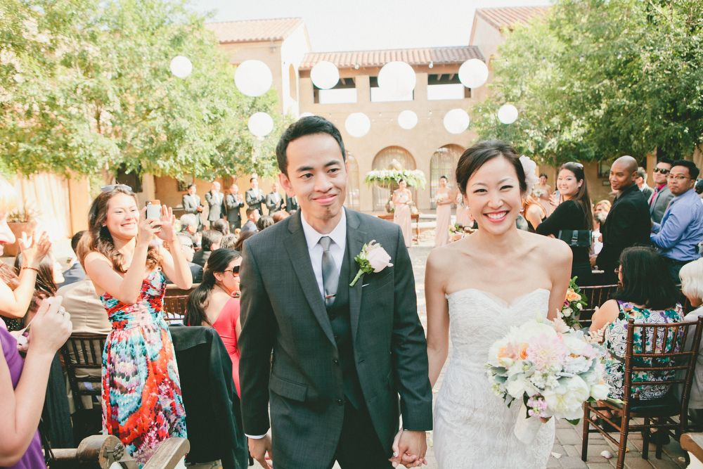 Melissa + Videnne, Serra Plaza. Photo by onelove photography.