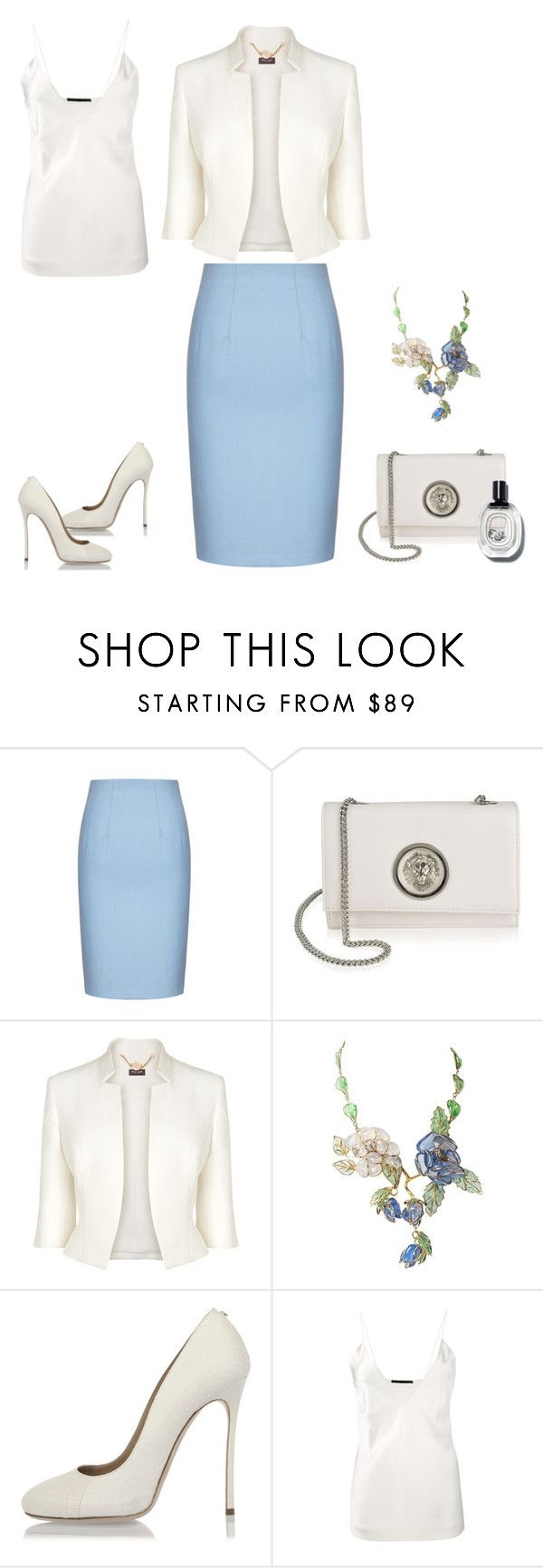 """For winning a group"" by indiamonds ❤ liked on Polyvore featuring Versus, Phase Eight, Dsquared2 and Haider Ackermann"