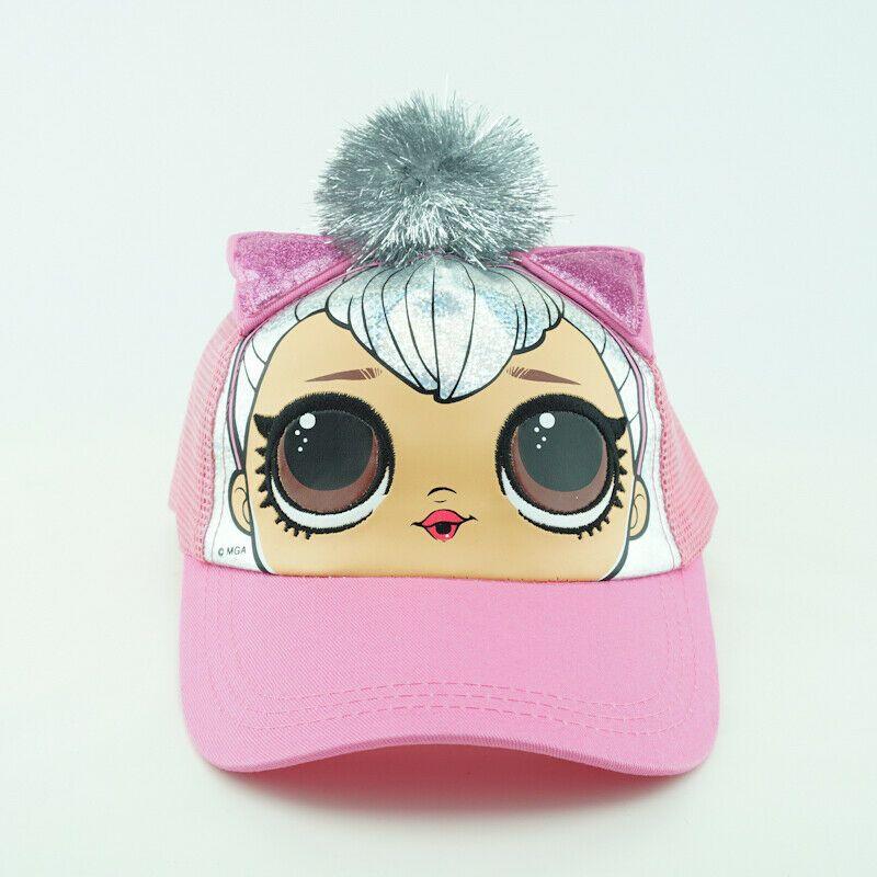 LOL Surprise Kitty Queen Hat Pink Snapback Mesh Cap #MGAEntertainment #queenshats