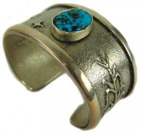 Navajo Bracelet - Darryl Begay : Lot 521