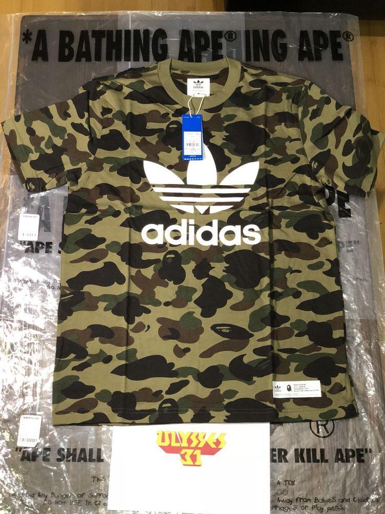 1c1e02d6 Bape Adicolor BAPE x Adidas #BAPE #Top | ebay | Bape, Adidas, Clothes