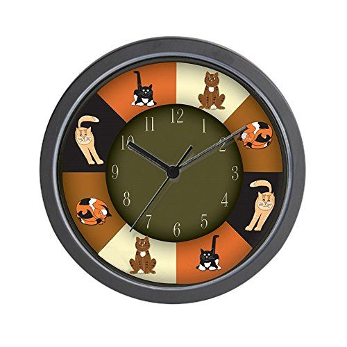 Cat Kitchen Decor  Cat Clock  CAT LOVERS! Wall Clock   Unique Decorative 10