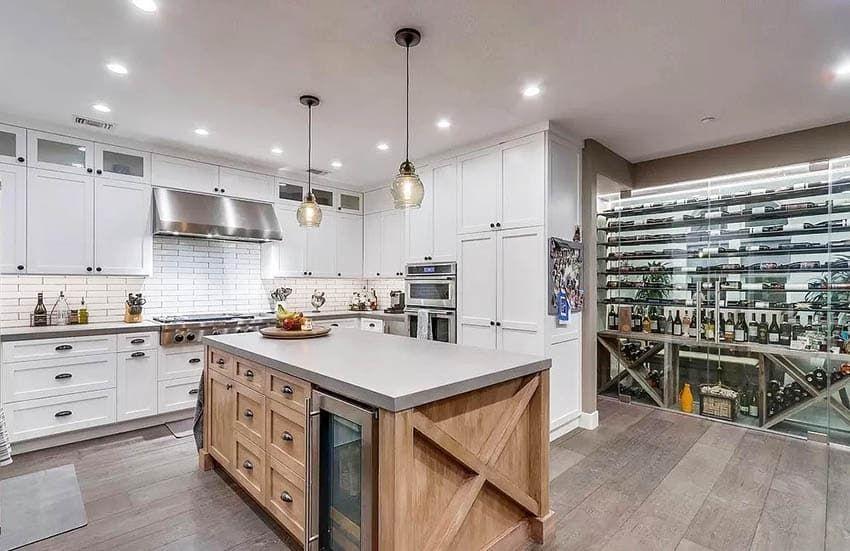 Wine Closet Ideas Design Pictures In 2020 Wine Closet Kitchen Design Beautiful Kitchen Designs