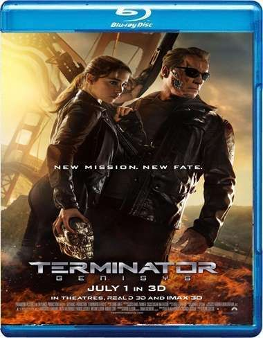 Terminator 5 Genesis 1080p   (HD-BluRay 1080p/Dual Box ...