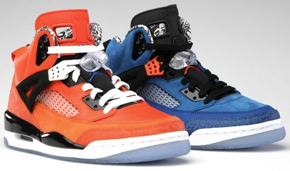newest 504be 1d8b1 ... Black Varsity Red Nike Air Jordan Knicks SpiZikes ...