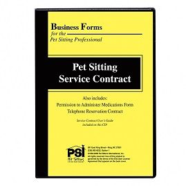 Your PetSitting Contract   Items You Should Include