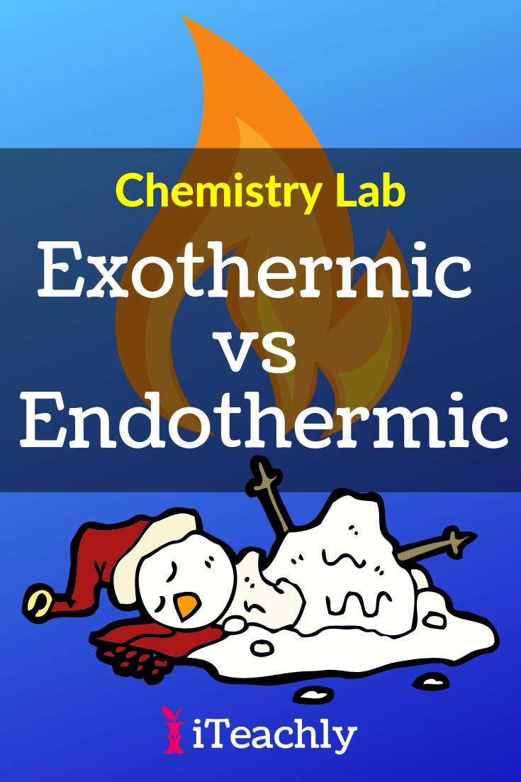 Endothermic and Exothermic Reactions Lab ⋆ iTeachly.com in ...