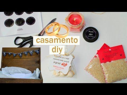 DIY CASAMENTO   Chuva de amor, lembrancinhas de casamento e caixa de recados - YouTube
