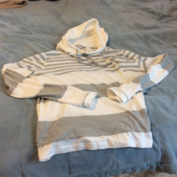 Aeropostale light weight hoodie NWT mens XL New with tags very comfy light weight hoodie in gray and cream Aeropostale Jackets & Coats