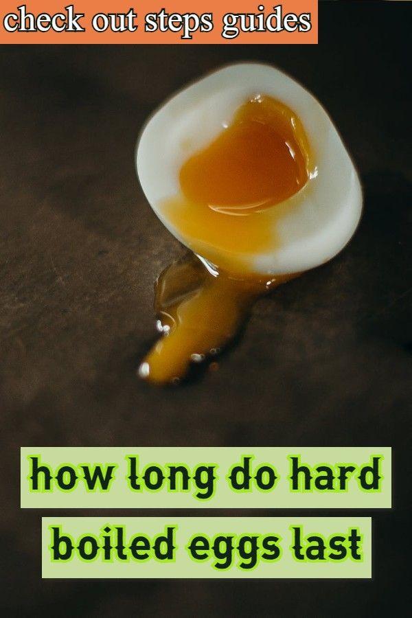 how long do hard boiled eggs last #boiledeggnutrition
