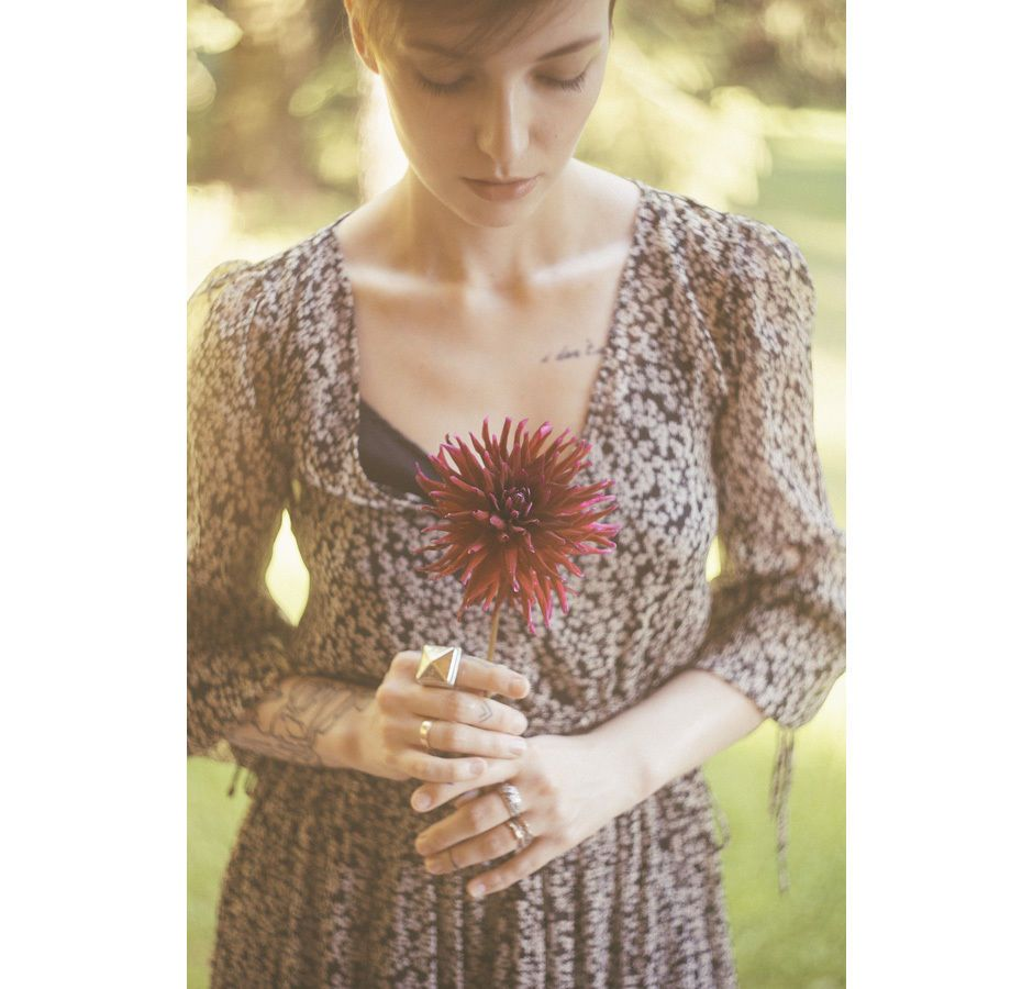 Zara maxi floral dress