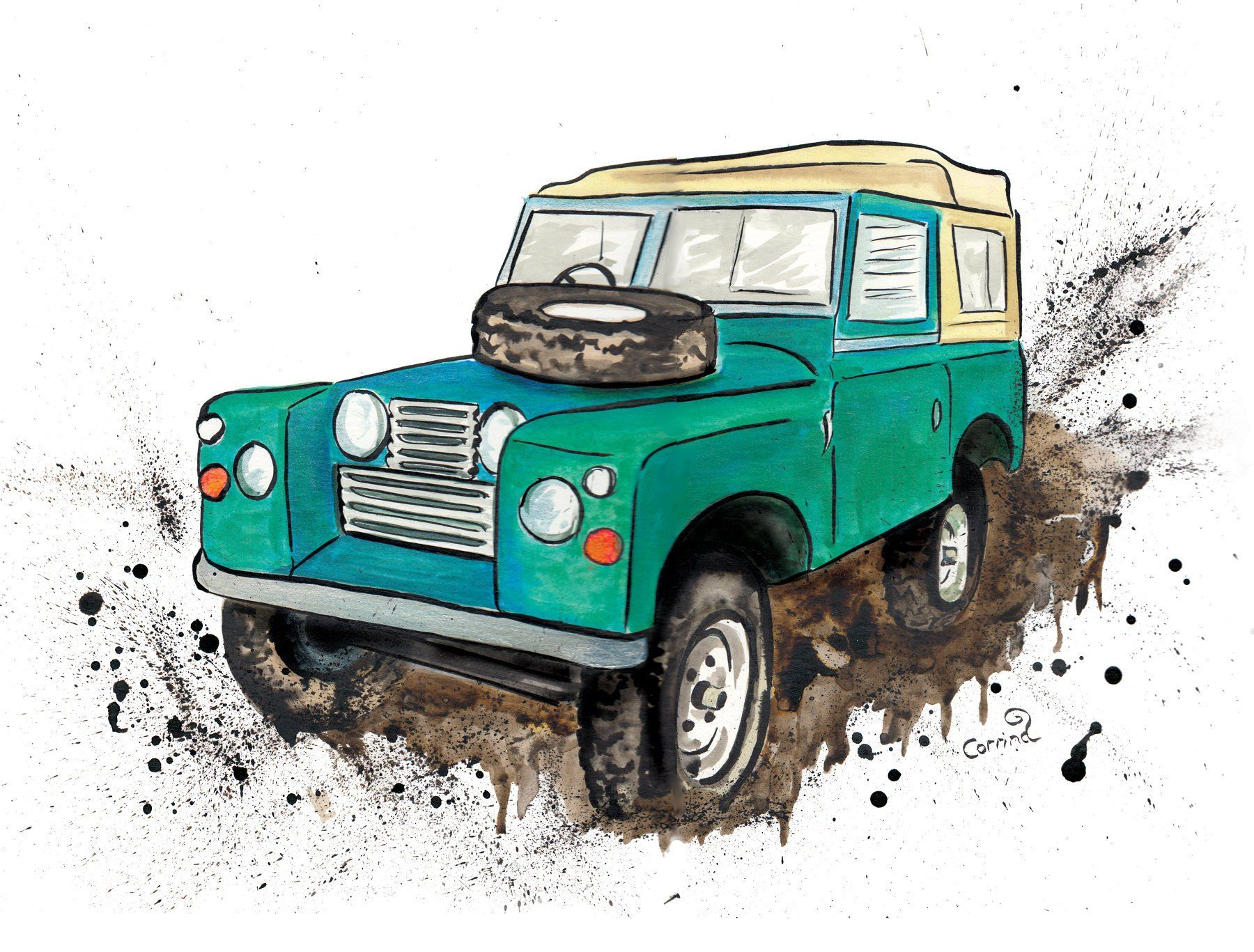 Discovery Land Rover Sticker Wall Art Boys Bedroom Garage
