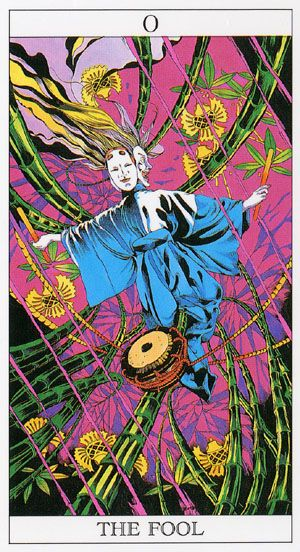 Love And Mystery Tarot By Yoshitaka Amano The Fool With Images