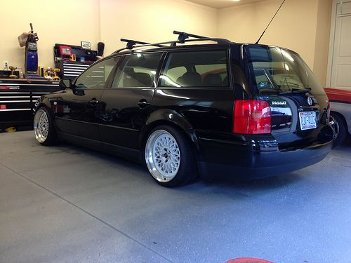 Lowered Passat Wagon FS/FT Lowered 2000 Passat Wagon GLX