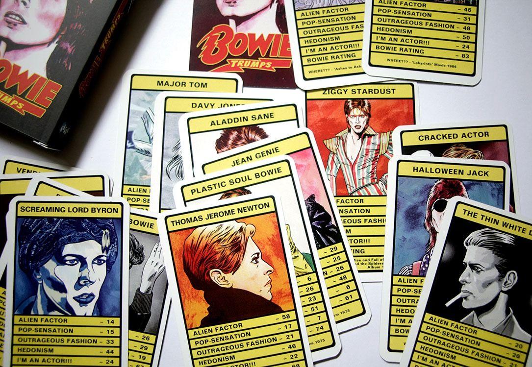 REVIEW David Bowie Trump Card Game Card games, David