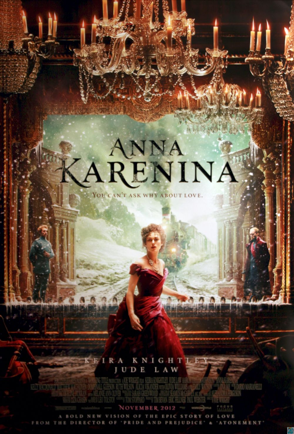 ANNA KARENINA. Dir.: Joe Wright