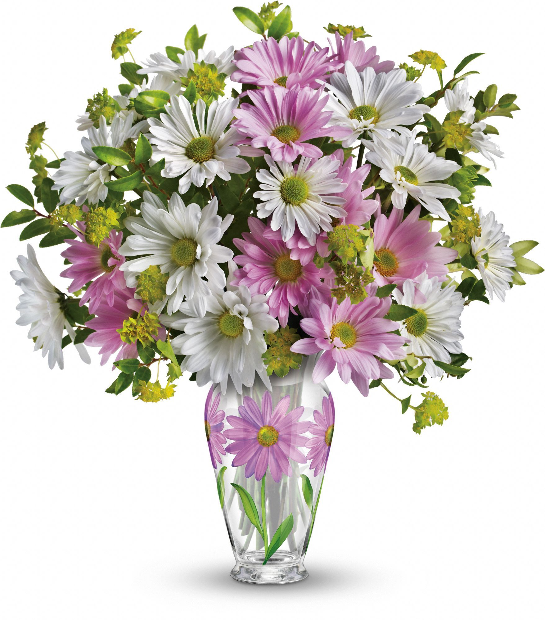 Telefloras Sweet Blossoms Bouquet LOVE this vase Pink