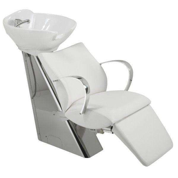 Bac A Shampoing Bahamas Confort Coloris Noir Maletti Salon Furniture Furniture Shampoo Chair