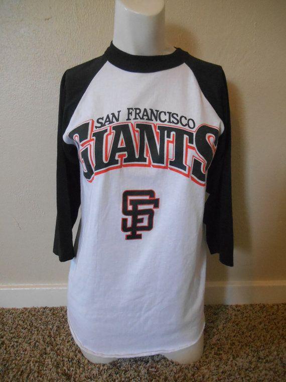 Vintage SF San Francisco Giants baseball tee by ATELIERVINTAGESHOP ... cd15ceb1b
