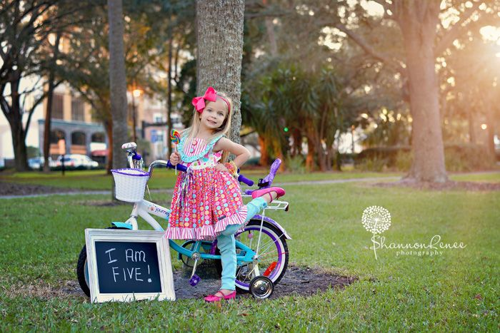 5 Yr Old Girl Birthday Photo Session Www Shannonreneephoto