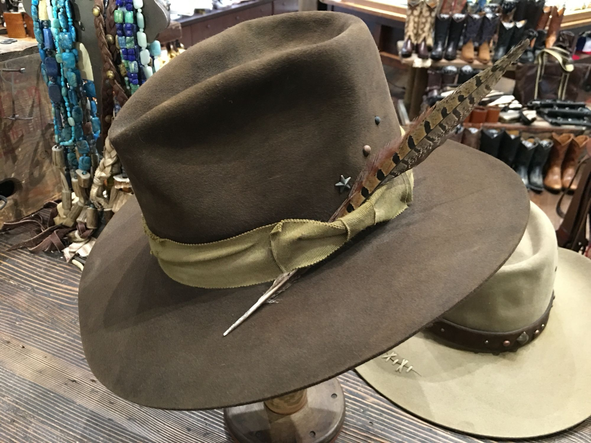 33c3227e5 Kemo sabe grit cow hair phone purse in 2019 | headwear | Dress hats ...