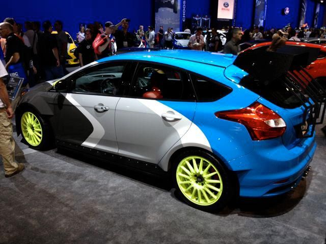 2013 Ford Focus St By Galpin Auto Sports With Funky Motegi Mr119