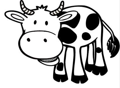 Kuh Ausmalbild 10 Ausmalbilder Tiere Kuh Coloring Pages Color