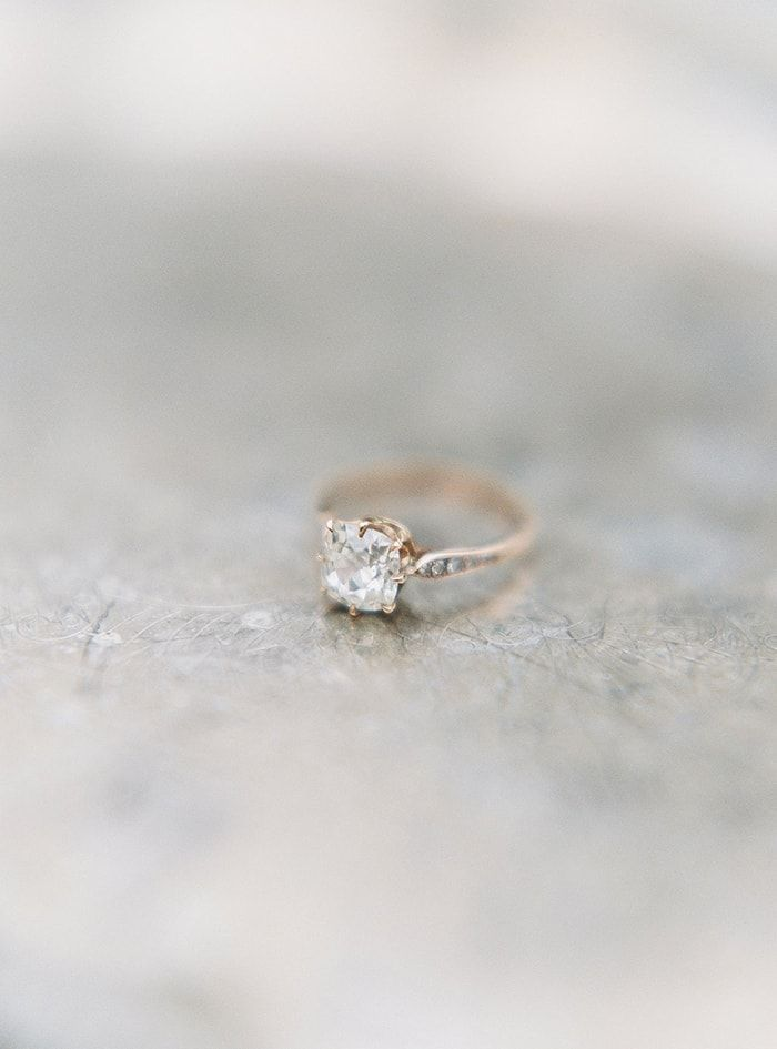 Love The Simple Elegance But Would Rather The Stone Be More Round